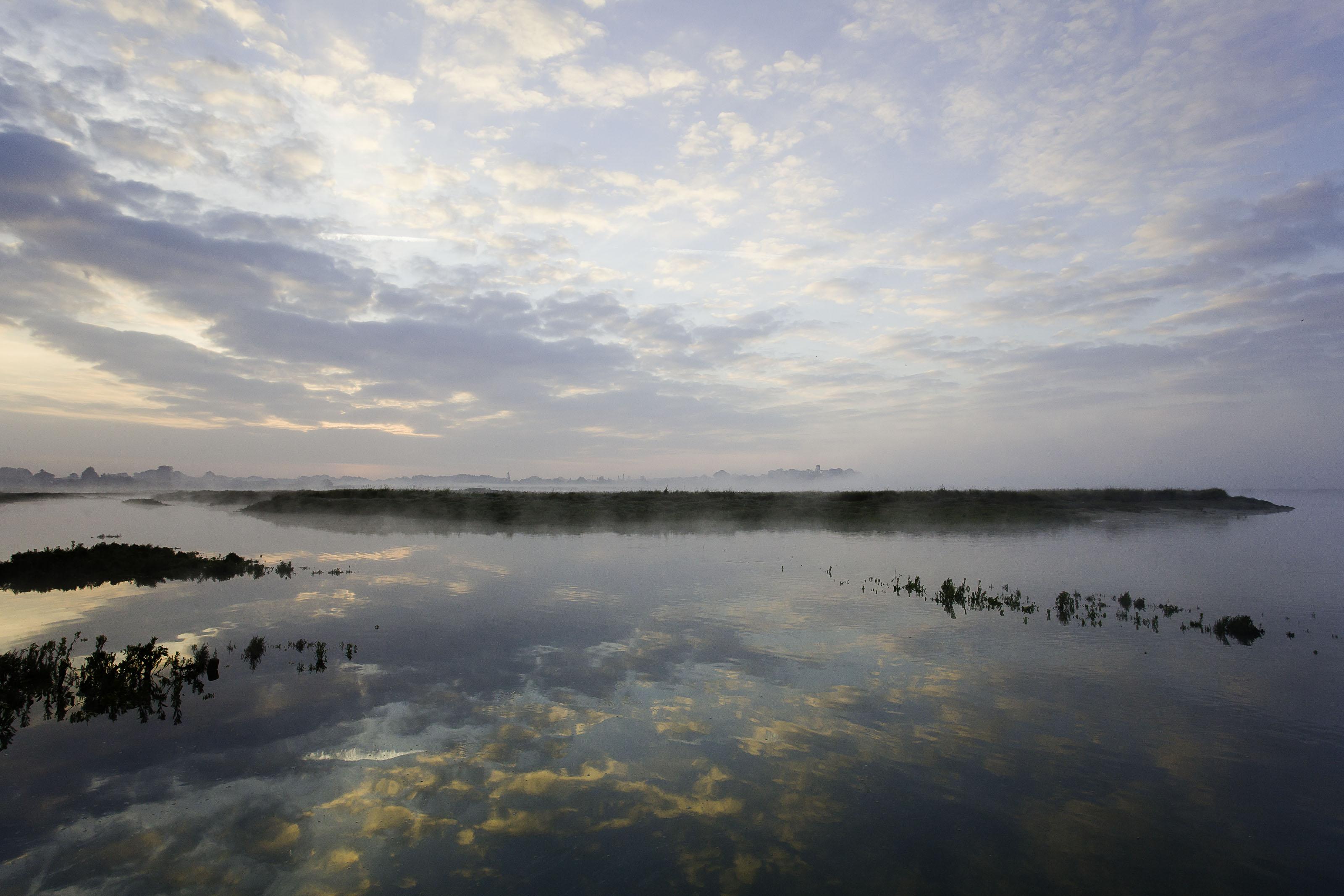 Estuaire de la rance paysage de brume bio sc for Estuaire de la rance