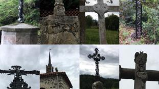 Les croix du hameau de Saint Julien d'Ance
