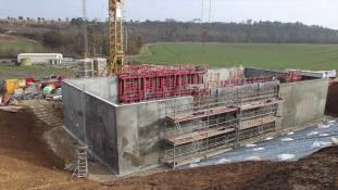 Timlaps-Chantier Ecostation-1/5