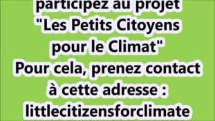 """Candice, """"Petits citoyens pour le climat"""""""