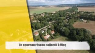 Un nouveau réseau collectif à Vicq