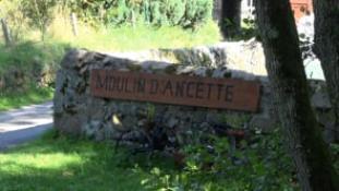 Le bief du Moulin d'Ancette