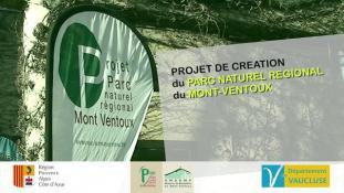 Projet de Parc Naturel Régional du Mont-Ventoux